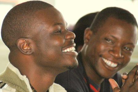 Northrise Students William Ngulube and Timmy Kapaya Katongo