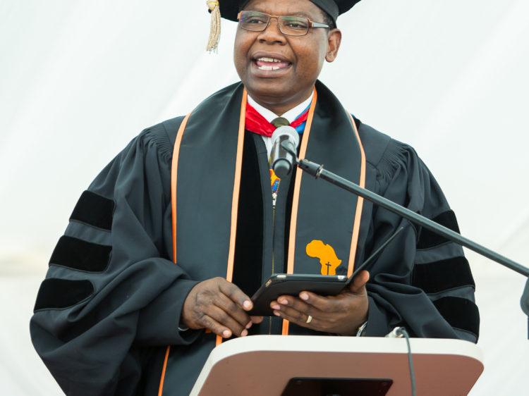 Dr Moffat Zimba Graduation 2017