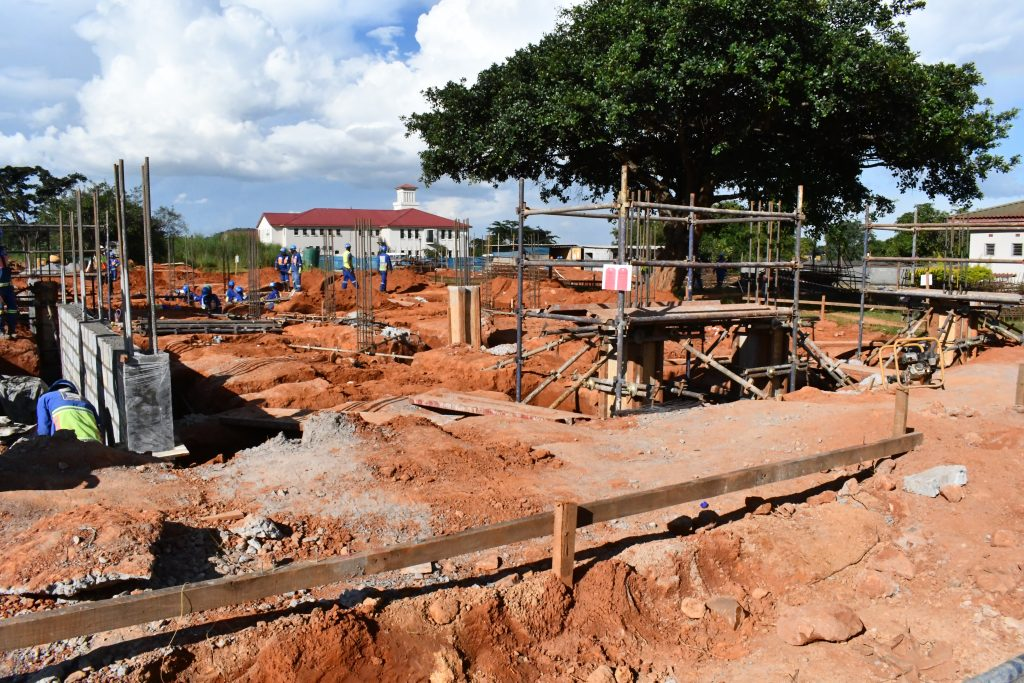 February broke ground on new dormitory